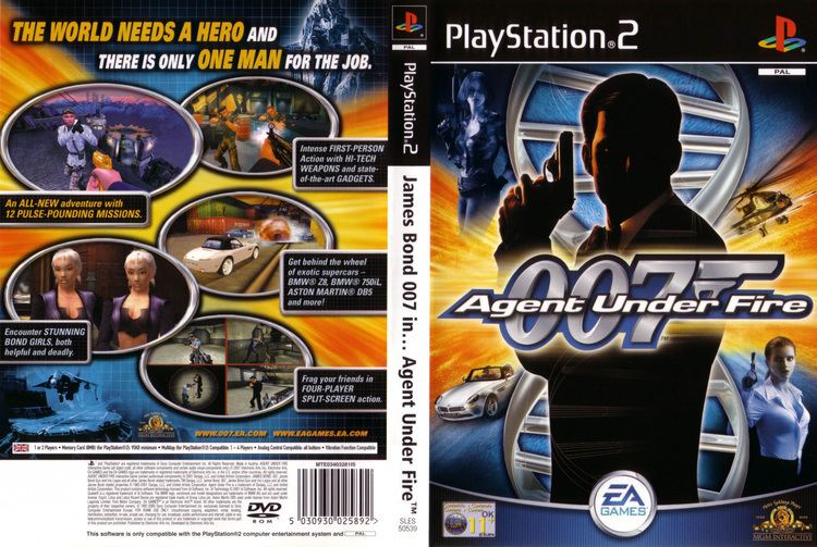 007: Agent Under Fire 007 Agent Under Fire USA ROM ISO Download for PlayStation 2