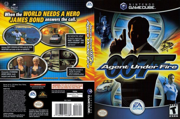 007: Agent Under Fire 007 Agent Under Fire ISO lt GCN ISOs Emuparadise