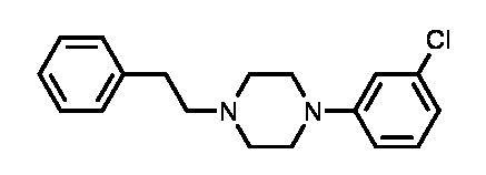 1-(3-Chlorophenyl)-4-(2-phenylethyl)piperazine