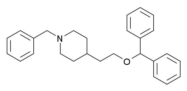 1-Benzyl-4-(2-(diphenylmethoxy)ethyl)piperidine