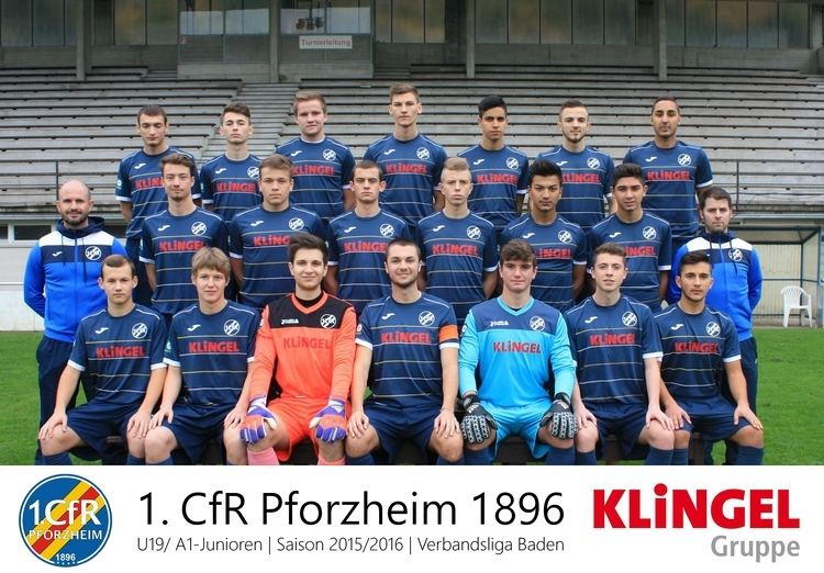 1. CfR Pforzheim 1 CfR Pforzheim 1 Mannschaft AJugend 201516 FuPa