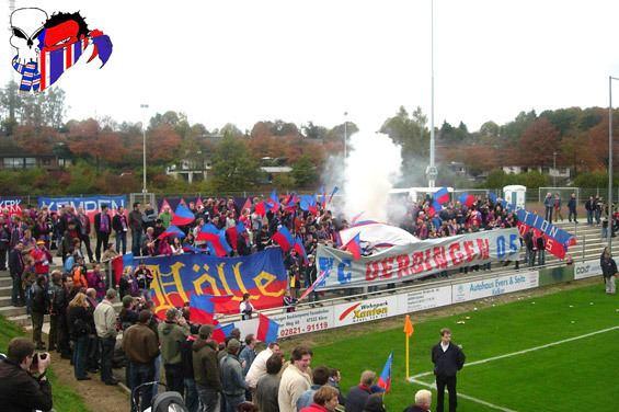 1. FC Kleve 1 FC Kleve gegen KFC Uerdingen 05 Faszination Fankurve
