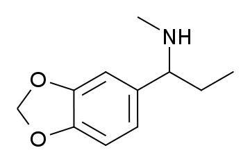 1-Methylamino-1-(3,4-methylenedioxyphenyl)propane
