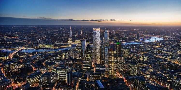 1 Undershaft Architect Eric Parry on London39s 1 Undershaft