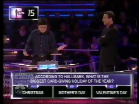 1 vs. 100 (U.S. game show) 1 vs 100 Very First Millionaire win YouTube