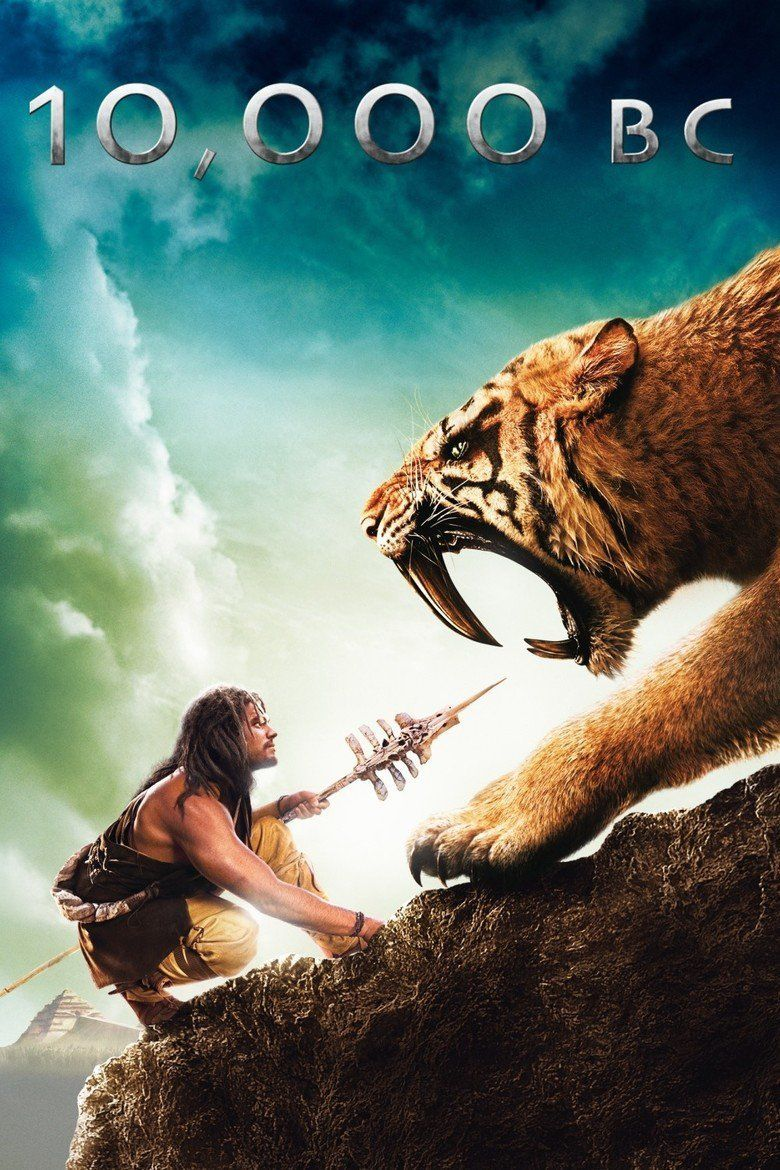 10,000 BC (film) movie poster