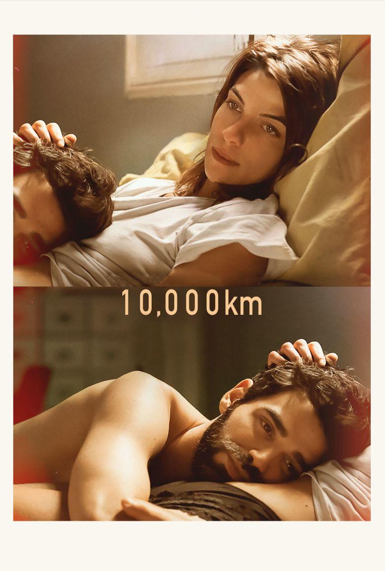 10,000 km (film) movie poster