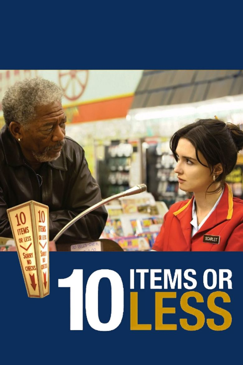 10 Items or Less (film) movie poster