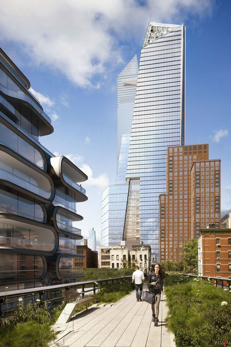 10 Hudson Yards A 40 share in 10 Hudson Yards is being marketed for sale by one of