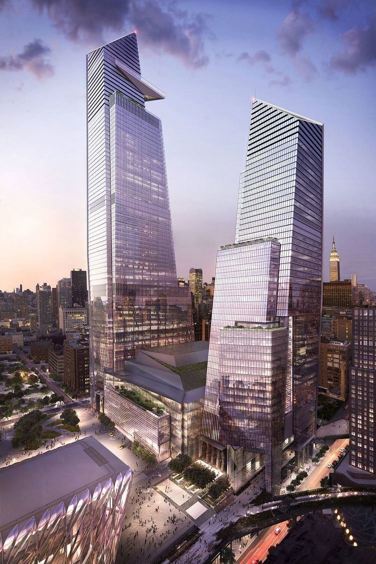 10 Hudson Yards Related39s Hudson Yards development close to full occupancy Crain39s