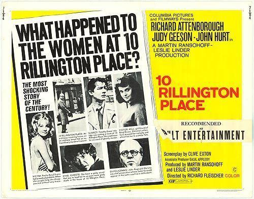 10 Rillington Place (film) movie poster