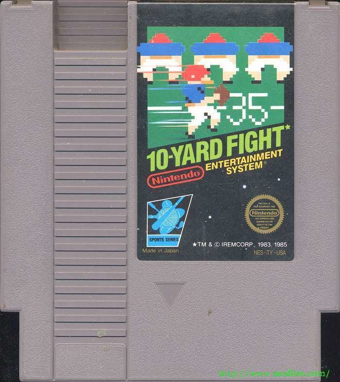 10-Yard Fight 10 Yard Fight for NES