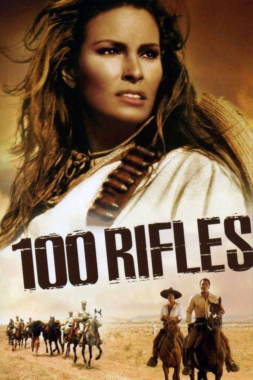 100 Rifles movie poster