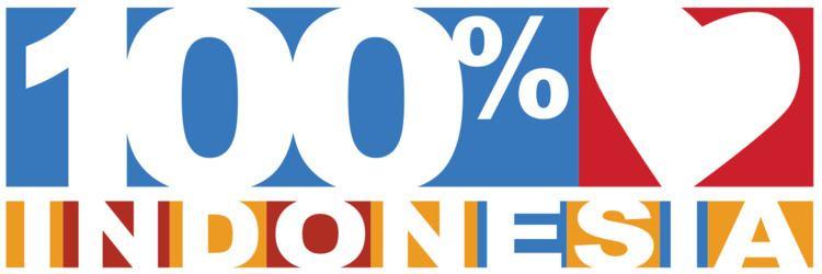 100% Cinta Indonesia