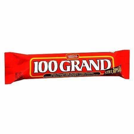 100 Grand Bar Nestle 100 Grand Candy Bar Walgreens