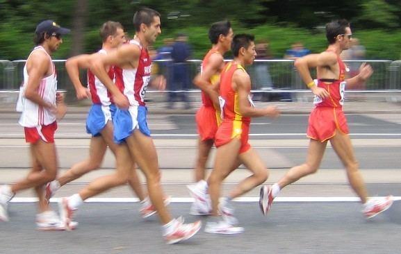 100 kilometres race walk