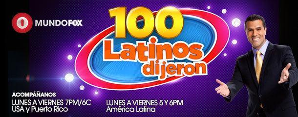 100 latinos dijeron Como Participar en 100 Latinos Dijeron