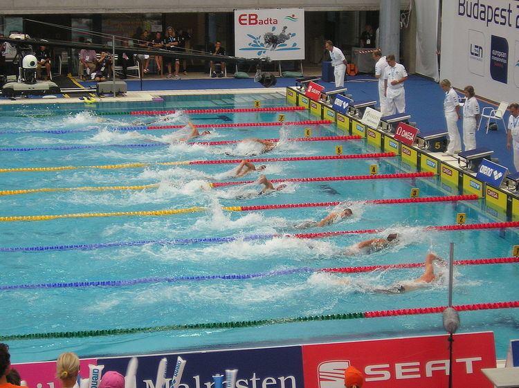 100 metres freestyle