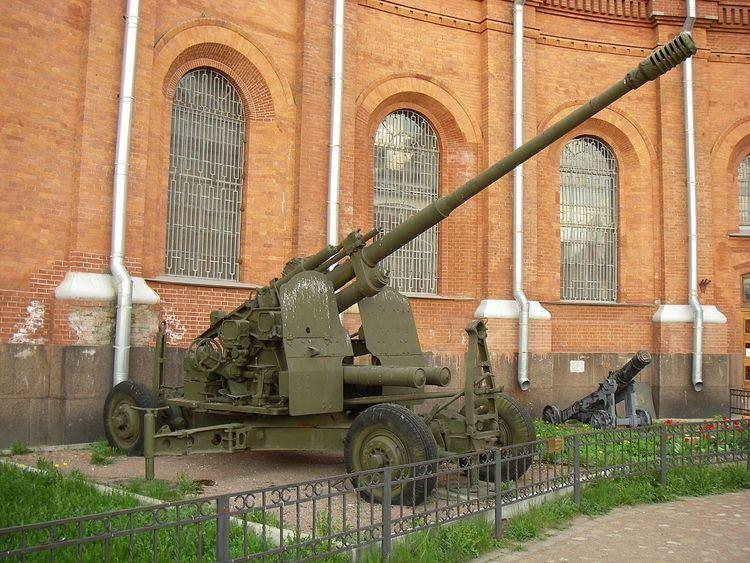 100 mm air defense gun KS-19
