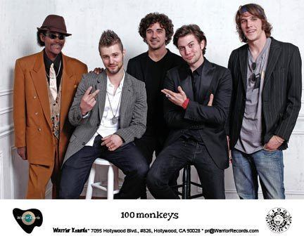 100 Monkeys httpswarriorrecordscomstorepics100monkeys8x
