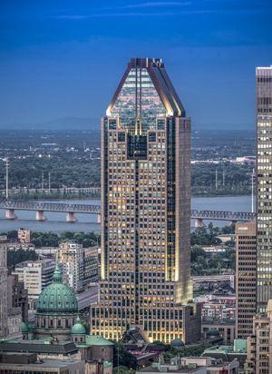 1000 de La Gauchetière Le 1000 De La Gauchetire Office building in Montreal Canada