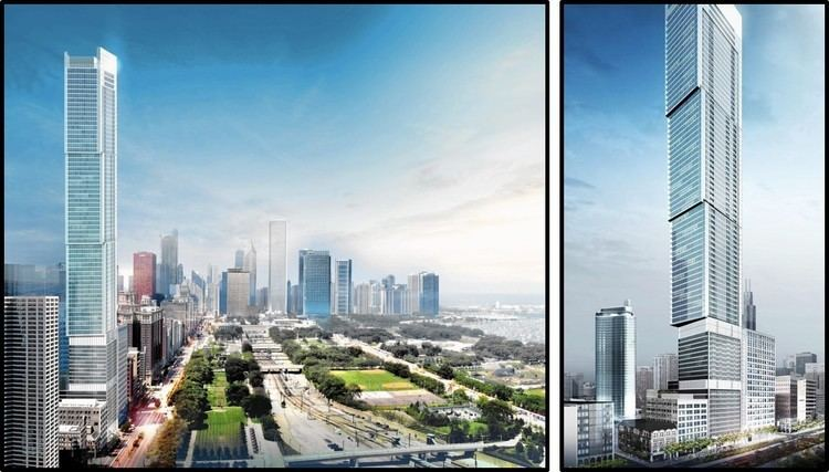 1000 South Michigan Exciting City Skyline SuperTalls Real Estate Royalty