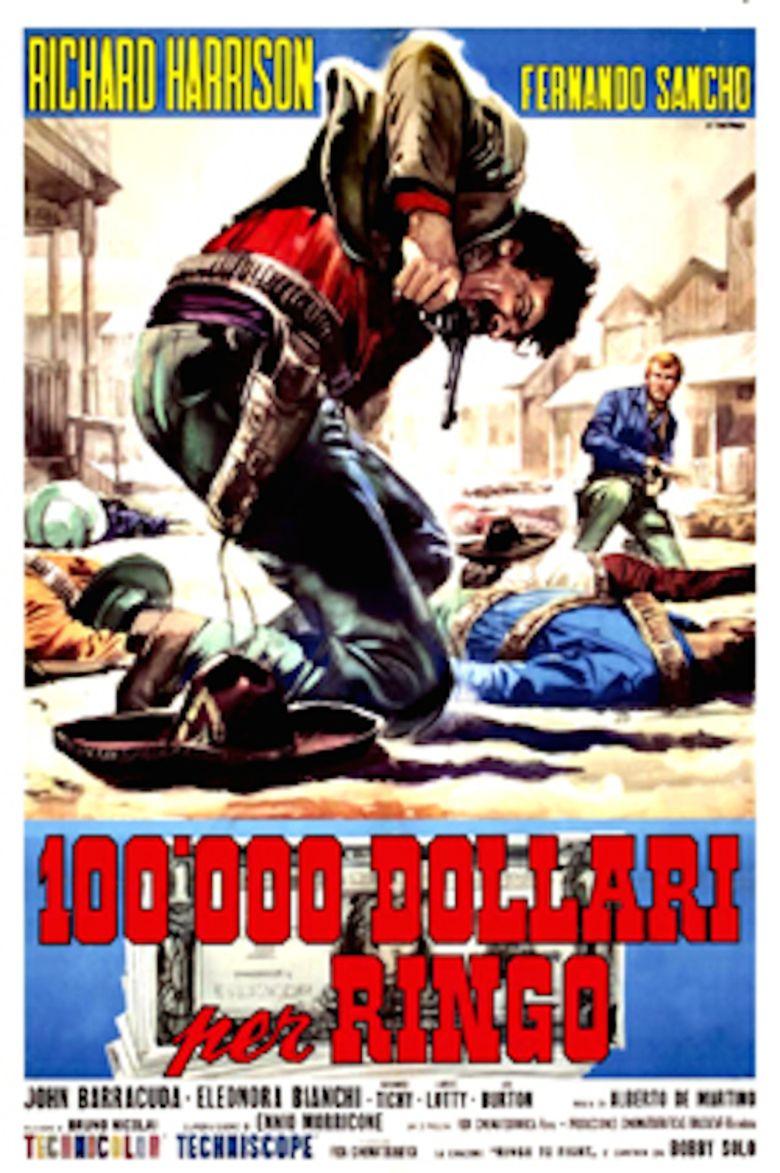 100000 dollari per Ringo movie poster