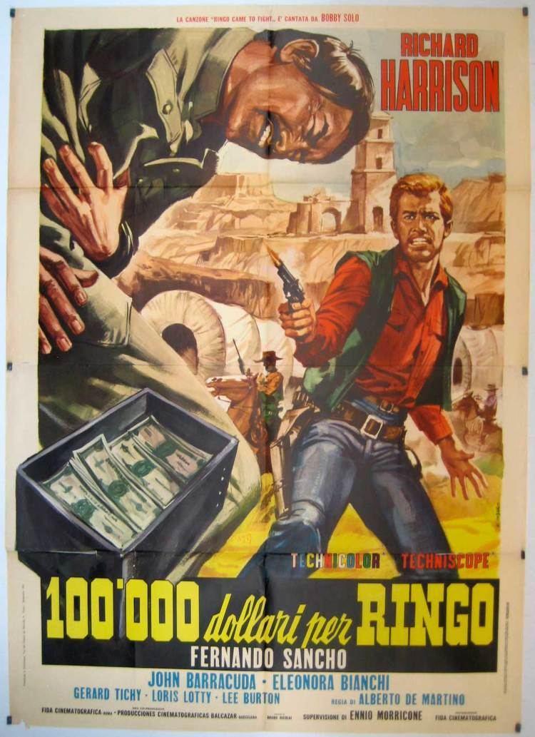 100.000 dollari per Ringo 100000 DOLLARI PER RINGO MOVIE POSTER CENTOMILA DOLLARI PER