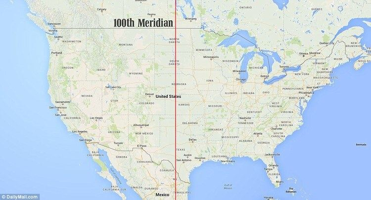 100th meridian west Pictures of the 100th Meridian where thousands realized their