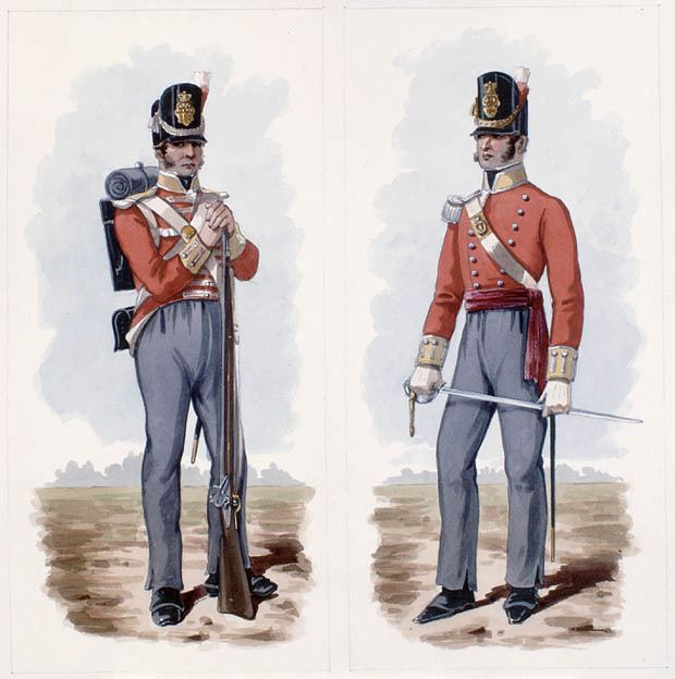 100th Regiment of Foot (Prince Regent's County of Dublin Regiment)