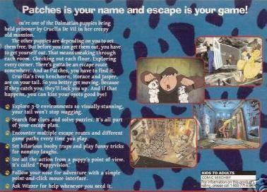 101 Dalmatians: Escape from DeVil Manor Disneyamp039s 101 Dalmatians Escape From DeVil Manor PC CD rescue