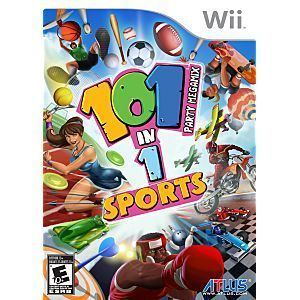 101-in-1 Sports Party Megamix 101in1 Sports Party Megamix Nintendo WII Game