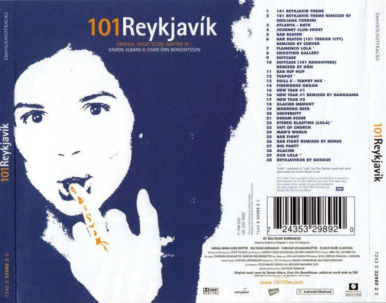 101 Reykjavík Damon Albarn 101 Reykjavik Soundtrack