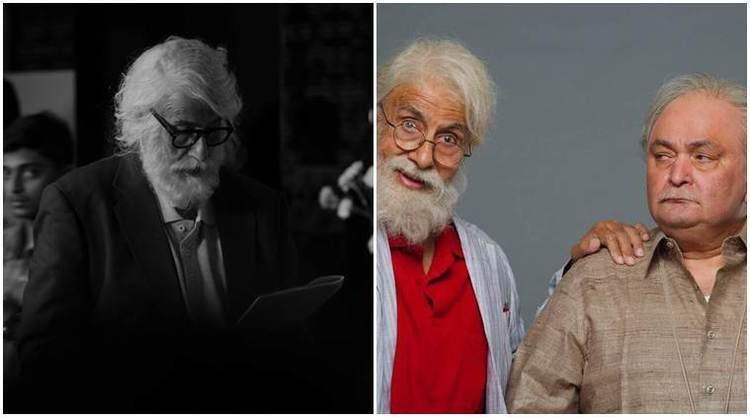 Amitabh Bachchan shares his real look from 102 Not Out says the