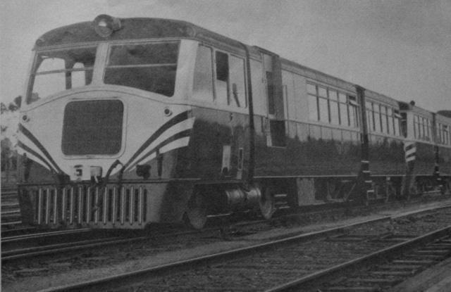 102hp Walker railmotor