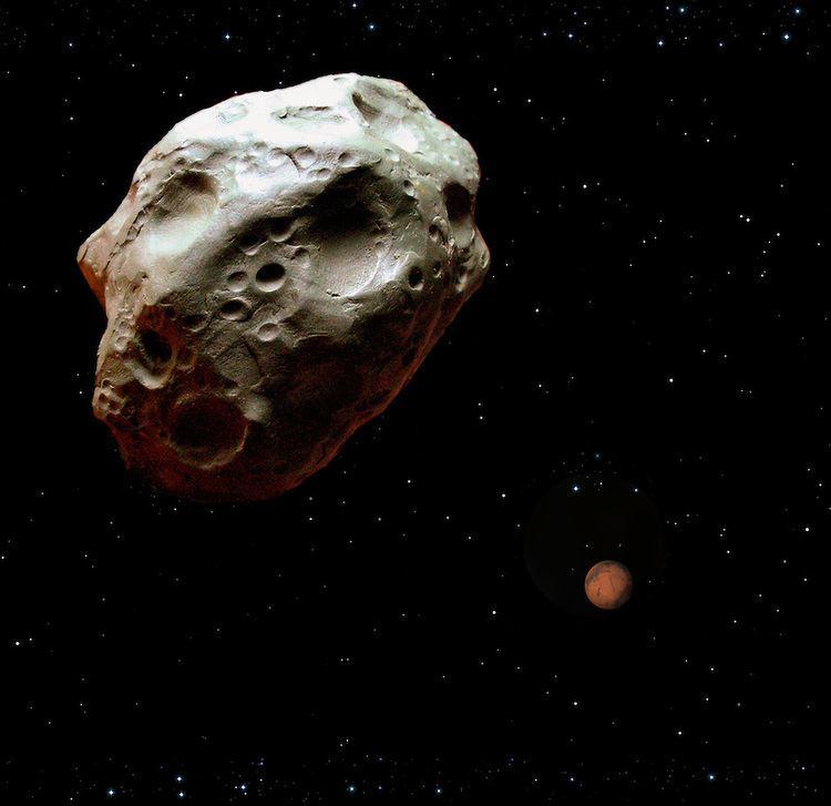1036 Ganymed 1036 Ganymed passing near Marsjpg RON MILLERBLACK CAT STUDIOS