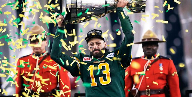 103rd Grey Cup Spirit of Edmonton Eskimos capture 103rd Grey Cup CFLca