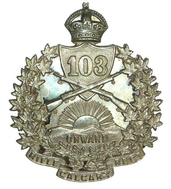 103rd Regiment (Calgary Rifles)