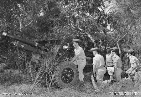 105th Medium Battery, Royal Australian Artillery