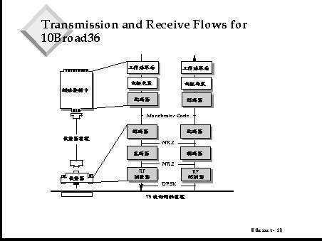 10BROAD36 Transmission and Receive Flows for 10Broad36