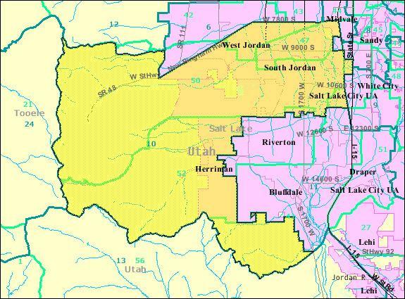 10th Utah Senate District