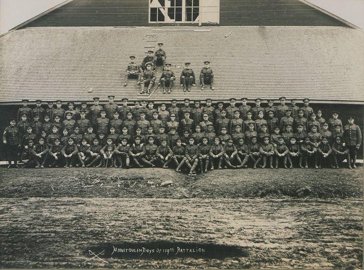 119th (Algoma) Battalion, CEF