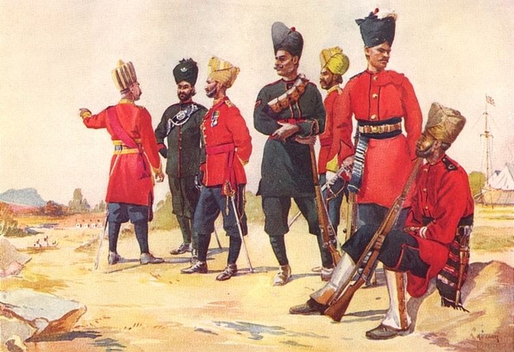 119th Infantry (The Mooltan Regiment)