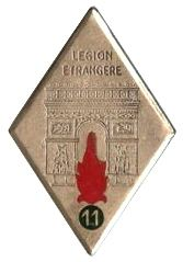 11th Foreign Infantry Regiment