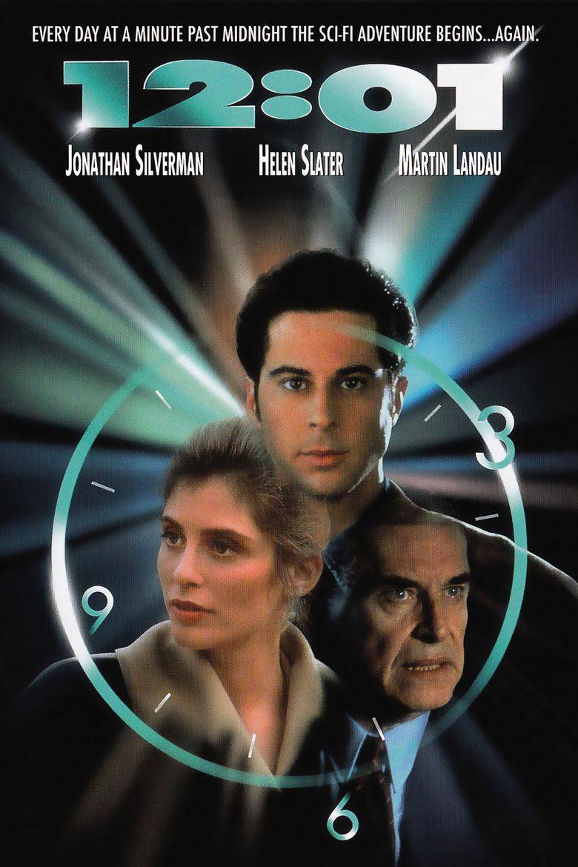 12:01 (1993 film) movie poster