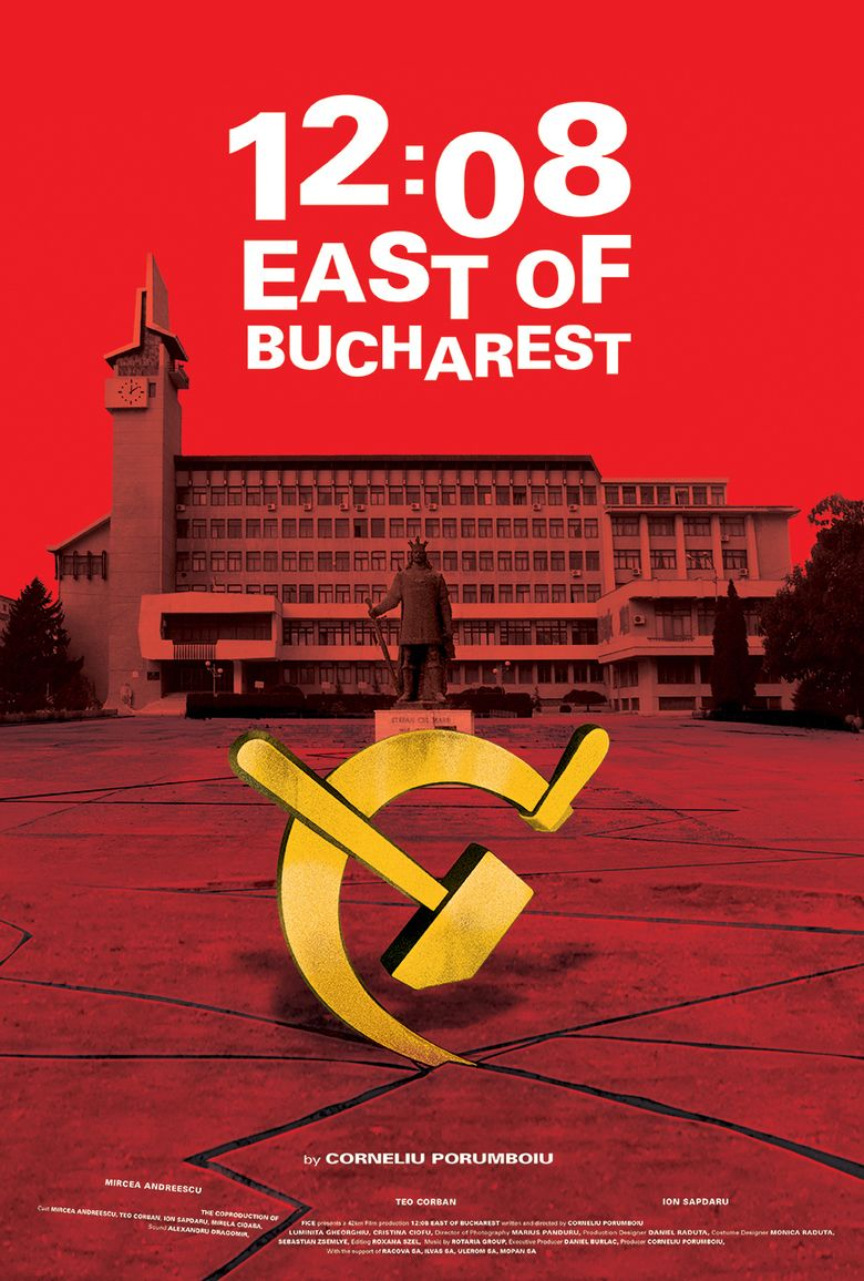 12:08 East of Bucharest movie poster