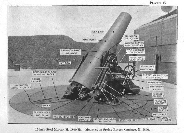 12-inch coast defense mortar