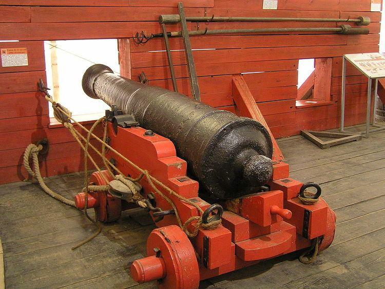 12-pounder long gun