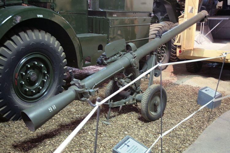 120 mm BAT recoilless rifle