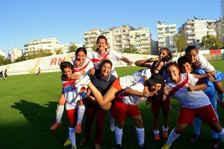 1207 Antalya Spor Antalya39s Pride 1207 AntalyaSpor Women39s Football Team ANTALYA